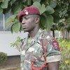 Le caporal Ali Khamis Omary, de la Tanzanie, a été sauvé par le soldat Chancy Chitete, du Malawi, lors d'une opération dans l'Est de la République démocratique du Congo.