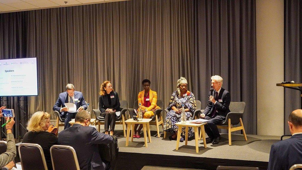 La conférence sur la lutte contre la violence sexuelle et sexiste dans les crises humanitaires s'est tenue les 23 et 24 mai 2019 à Oslo, en Norvège,