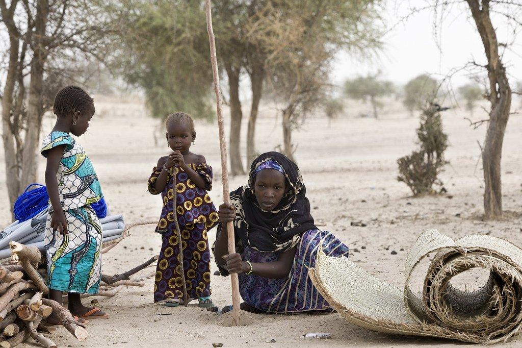 Des réfugiés nigérians dans le camp de Sayam Forage au Niger (archive - mai 2016).