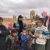 The UN  Office for the Coordination of Humanitarian Affairs (OCHA) visits Rukban, the arid remote area of Syria close to the Jordan and Iraq borders, which  became a refugee camp in 2014.