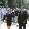 На Поклонной горе в Москве отметили Международный день миротворца