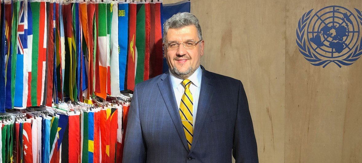 Генерал-майор, Представитель министерства обороны при Постоянном представительстве Украины при ООН Юрий Кравец.
