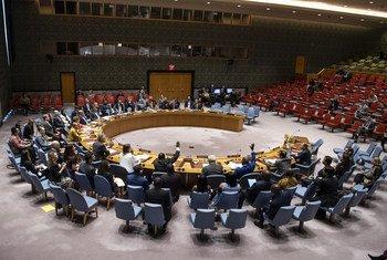 مجلس الأمن يصوت على القرار 2471 يمدد بموجبه نظام العقوبات على جنوب السودان.