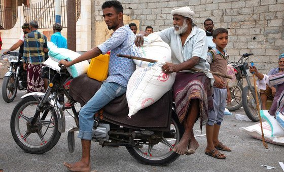 Nos últimos meses, o PMA tem prestado assistência alimentar a mais de 10 milhões de pessoas no Iêmen.