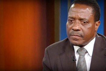Embaixador de Moçambique junto das Nações Unidas, António Gumende