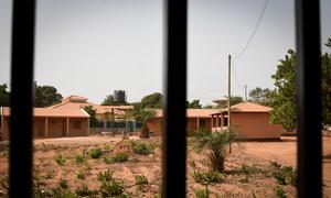 Sede da Associação dos Amigos da Criança, Amic, na Guiné-Bissau