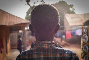 Califo de la Guinée-Bissau, est un enfant Talibé.