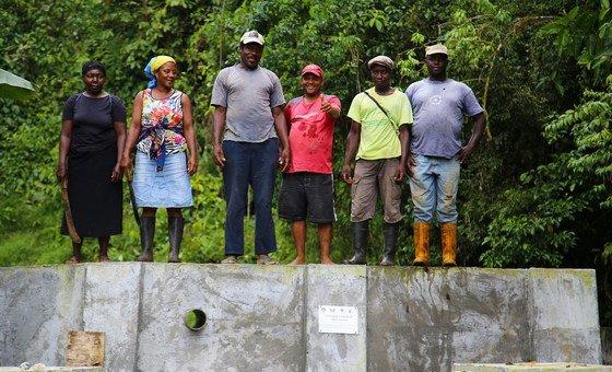 Sistema de irrigação apoiado pelo Pnud ajuda a produzir durante todo o ano