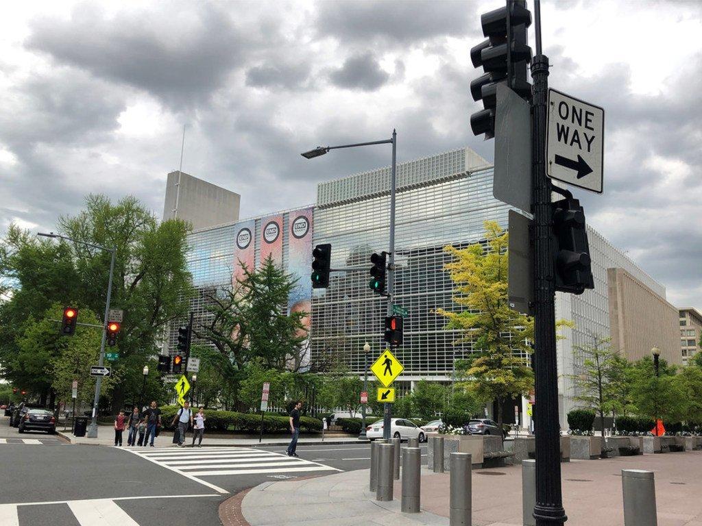 مقر البنك الدولي في العاصمة  الأميركية واشنطن.