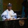 新当选的联合国大会第七十四届会议主席穆罕默德-班德大使。(2019年6月4日)