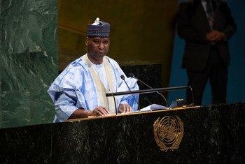 संयुक्त राष्ट्र महासभा के 74वें सत्र की अध्यक्षता संभालेंगे तिजानी मोहम्मद-बांडे.