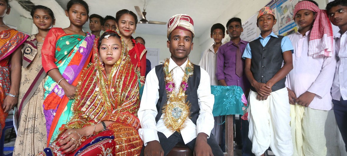 Around 23 million boys have married before reaching 15