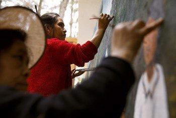 """San Juan Comalapa en Guatemala es conocida como la """"Florencia de América"""" por su rica historia en arte."""