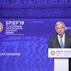 Антониу Гутерриш выступил на пленарном заседании ПМЭФ-2019