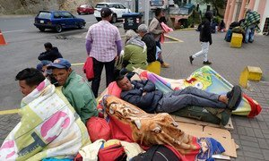 An average of 1,650 refugees and migrants from Venezuela continue to arrive each day in Ecuador.  (4 June 2019)