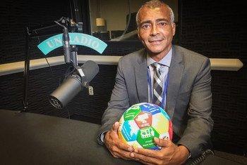 Ex-jogador de futebol e senador do Brasil Romário