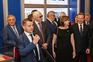 Ярослав Нилов на выступил на открытии выставки, посвященной 100-летию МОТ