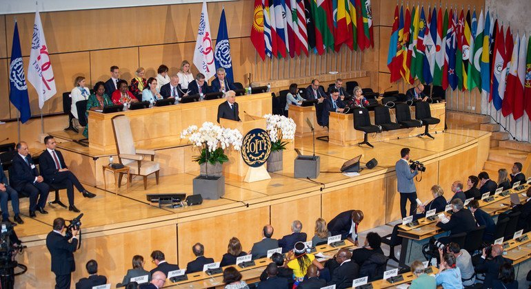 The future of work 'with social justice for all' tops agenda of centenary UN Labour conference