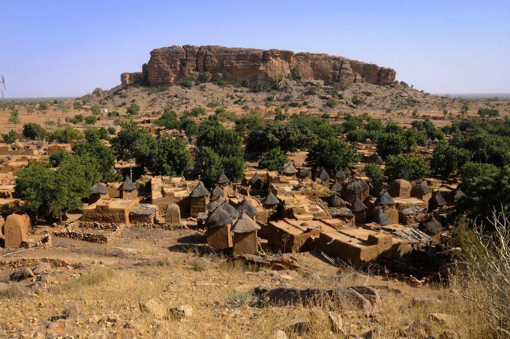 Un village traditionnel Dogon dans le centre du Mali (photo d'archives 2013).