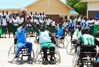 Спортсмены с инвалидностью в Южной Судане. Фото из архива.