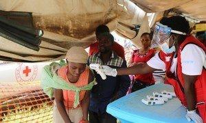 Surveillance de la maladie d'Ebola à la frontière entre la République démocratique Congo et l'Ouganda.
