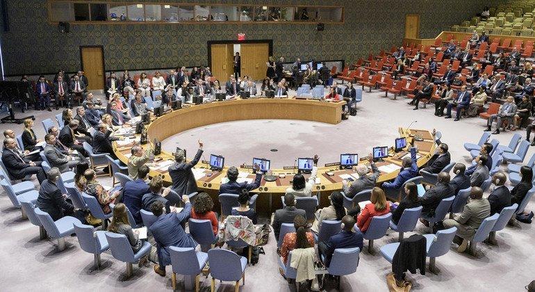 Заседание Совета Безопасности ООН о лицах, пропавших без вести в результате вооруженных конфликтов.