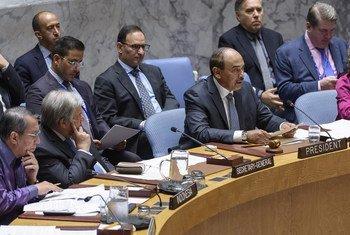 安理会就与阿拉伯国家联盟合作的问题举行会议。
