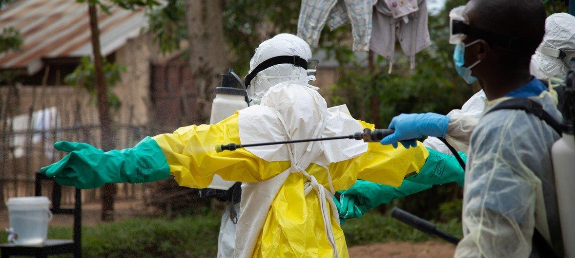 Proteção contra Ebola em Beni, República Democrática do Congo