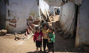 Um em cada dois refugiados tem menos de 18 anos.