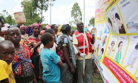 Uganda reforça a capacidade de prevenção, controle de infecções, rastreio e vigilância transfronteiriça
