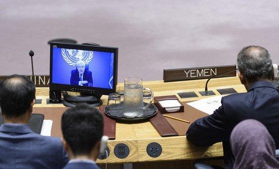 """Para Griffiths, o fim do conflito no Iêmen """"só pode ser alcançado através de uma solução política abrangente""""."""