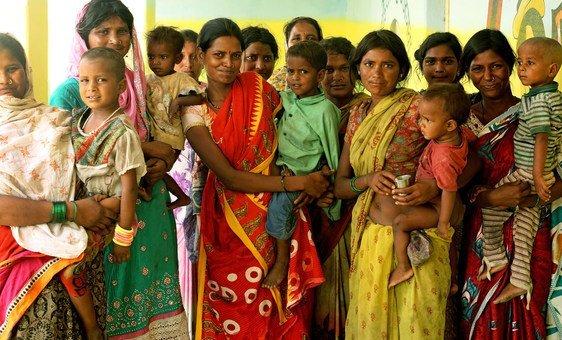 Comunidade tribal Pardhi, na Índia, que deve ultrapassar a China como país mais populoso