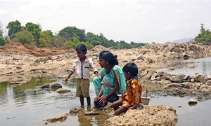 4,2 млрд человек во мире живут без элементарных санитарно-гигиенических условий - как эта жительница Индии.