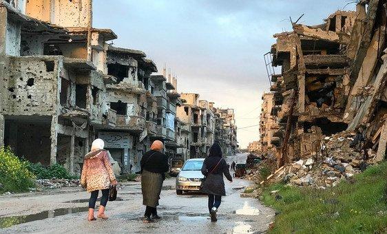 Comissão Internacional Independente de Inquérito para a Síria, presidida pelo brasileiro Paulo Sérgio Pinheiro, tem documentado graves violações de direitos humanos.