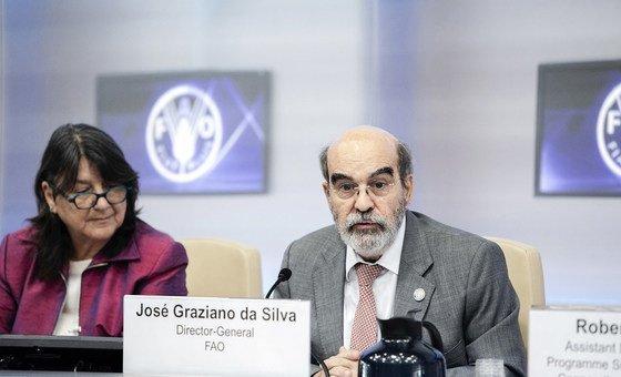 O ex-diretor-geral da FAO, José Graziano da Silva, defende um desenvolvimento sustentável da agricultura.