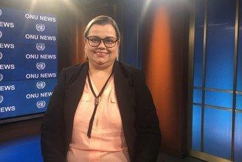 Priscilla Gaspar, secretária nacional dos Direitos da Pessoa com Deficiência, do Ministério da Mulher, da Família e dos Direitos Humanos do Brasil.