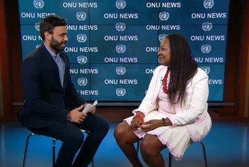 Diretora do escritório da Organização das Nações Unidas para a Agricultura e Alimentação, FAO, em Nova Iorque, Carla Mucavi.