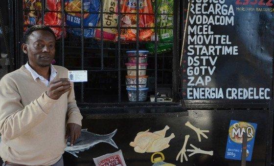 O somali Mohamed Abdul Farha, 46 anos, vive em Moçambique desde 1995 onde diz não haver problemas de acolhimento.