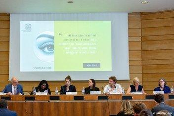 """Conferência: """"Enfrentando o assédio on-line de mulheres jornalistas"""""""