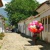 A cidade histórica de Paraty, no estado do Rio de Janeiro.