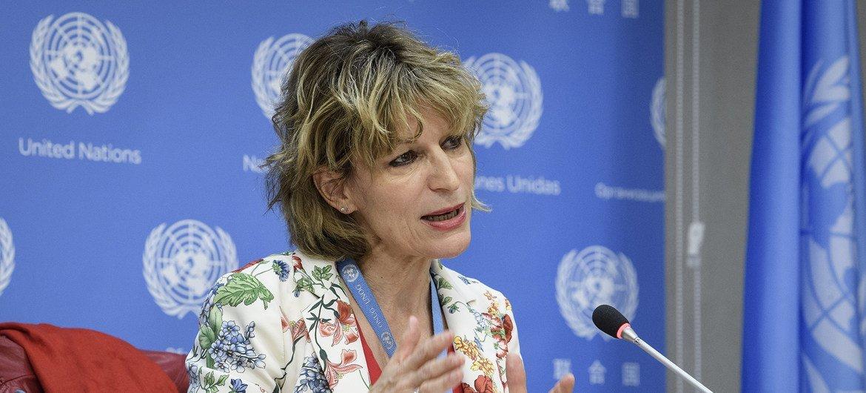 Agnès Callamard, Special Rapporteur on extrajudicial, summary or arbitrary executions.