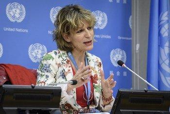 Agnès Callamard, Rapporteure spéciale des Nations Unies sur les exécutions extrajudiciaires, sommaires ou arbitraires.