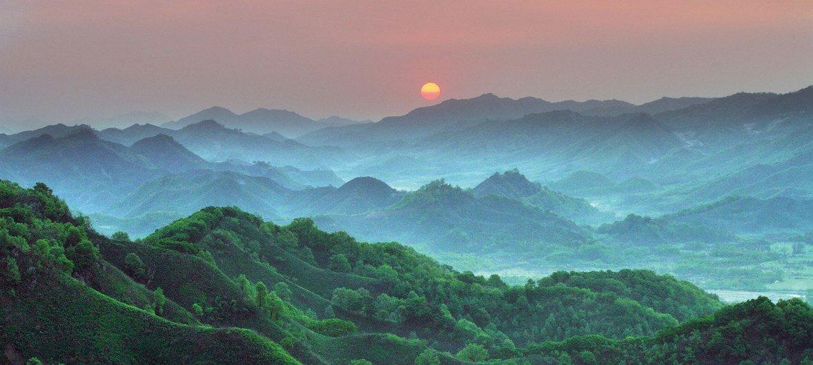 韩国江原道生物圈保护区