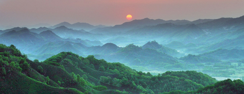 Reserva de Gangwon en la República de Korea.