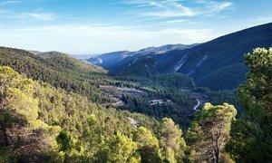 Alto Turia Biosphere Reserve in Spain.
