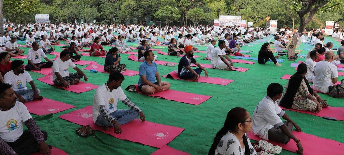 Ioga é uma prática ancestral surgida na Índia