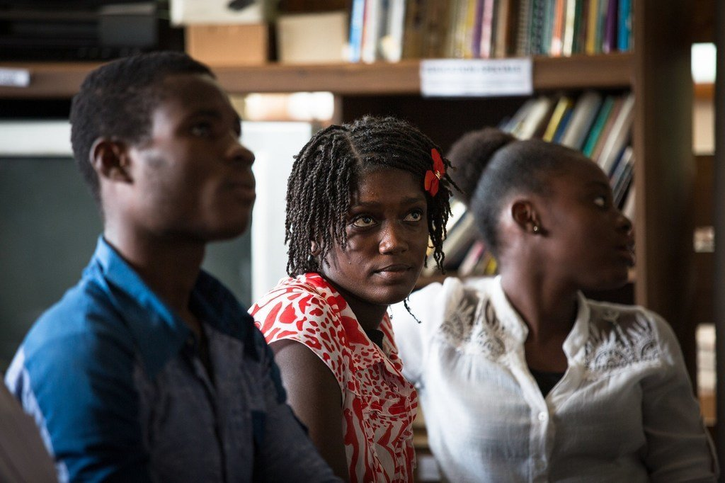 A Port au Prince, la Commission national haïtienne de coopération avec l'UNESCO organise des ateliers d'écriture. (archive)