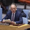 David Shearer, Représentant spécial du Secrétaire général pour le Soudan du Sud, devant le Conseil de sécurité le 25 juin 2019.
