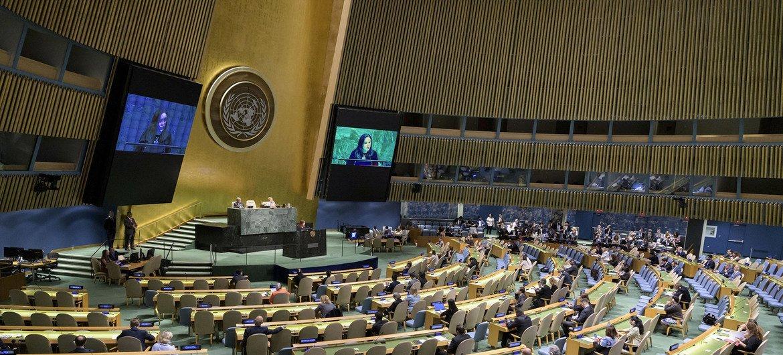 La reunión en la Asamblea General para combatir el antisemitismo y otras formas de discriminación racial.