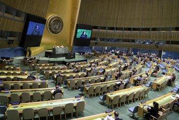 联合国总部举行会议,解决数字时代的仇恨言论和暴力煽动问题。